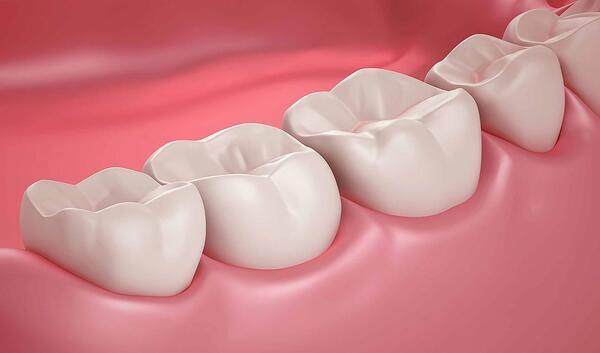 Răng hàm có thay không